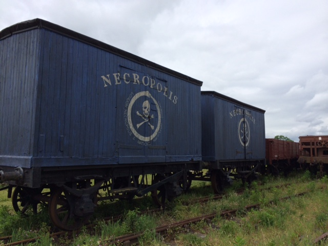 These two vans, owned by members of RVP, were used recently at the GCR for the filming of an upcoming episode of