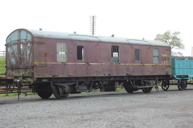 BR CCT 94606 has now been moved to Quorn ready for collection and movement to its new home.
